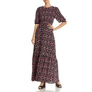 WAYF   Floral Print Maxi Dress
